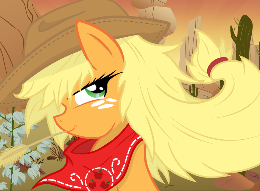 Applejack of the West by JDRIZZLE