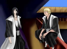 Bleach Inked Black: Meeting of Three Captains