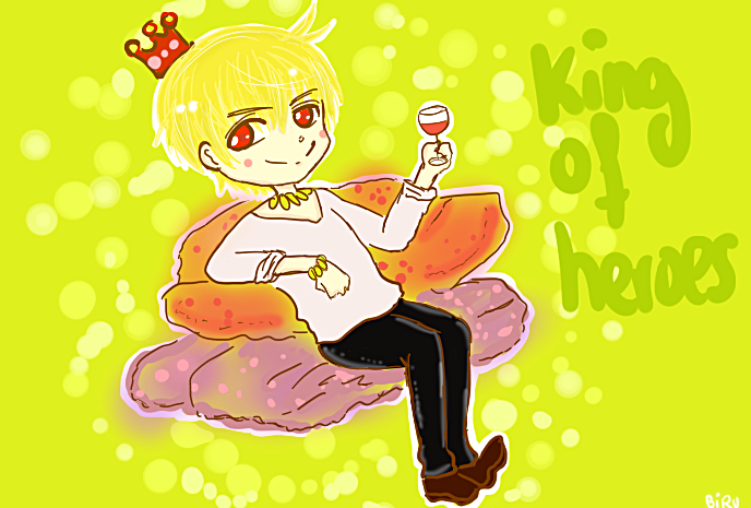 The King by 0oIrweno0