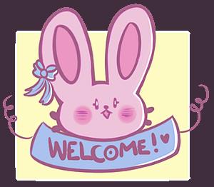 Welcome bunny by 0oIrweno0