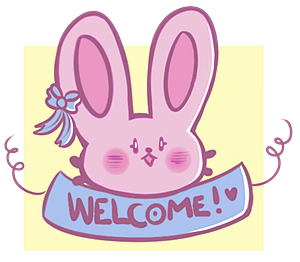 Welcome bunny by 0oIrweno0