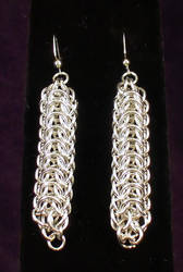 Persian Dragonback Earrings