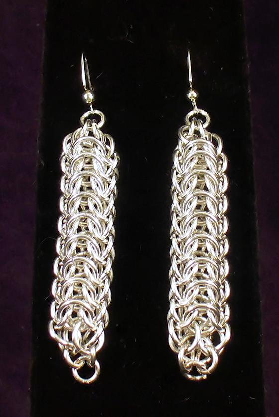 Persian Dragonback Earrings