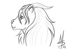 Sketchavember, 11/21/2014 by Ginkage