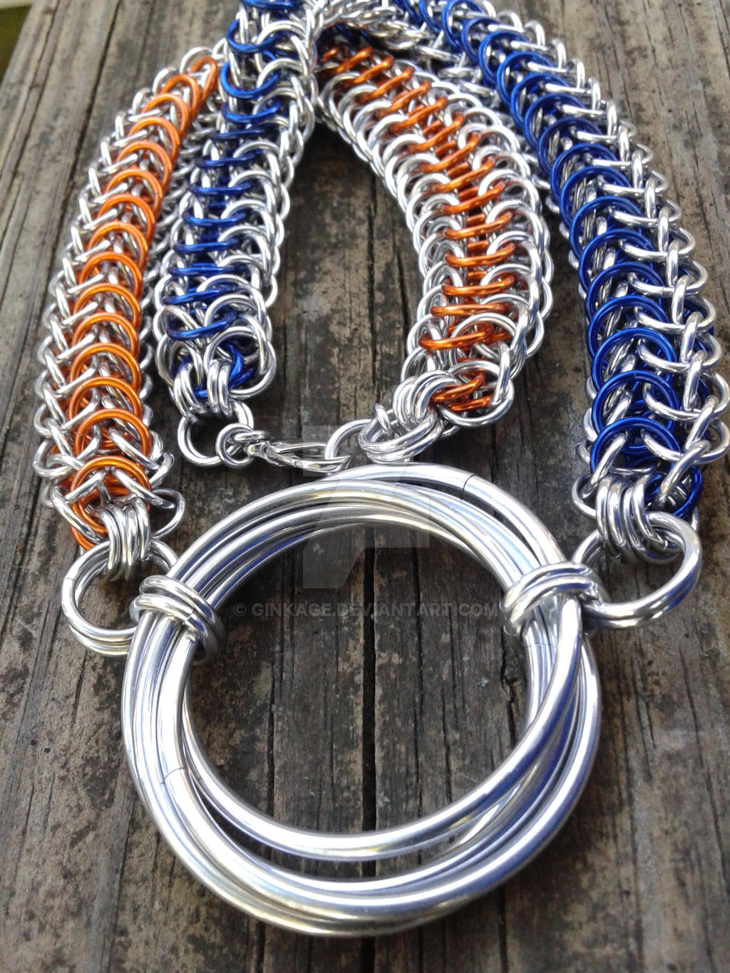 Now You're Maille-ing With Portals by Ginkage