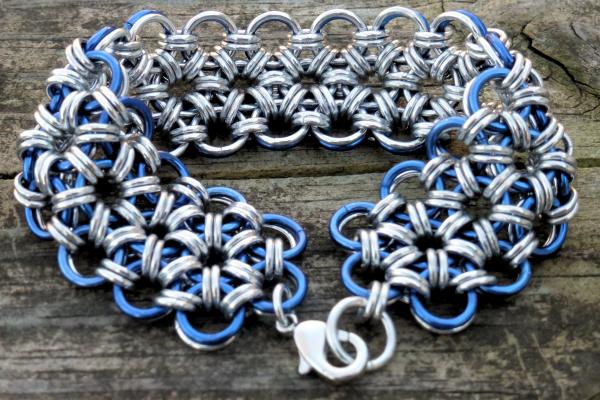 Blue Lace Bracelet by Ginkage