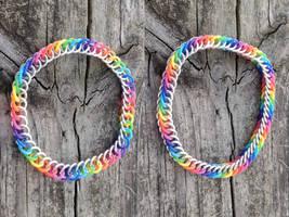 Rainbow Rubber Bracelets!
