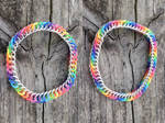 Rainbow Rubber Bracelets! by Ginkage