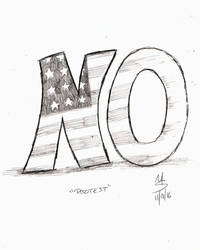 Sketchavember 11/9/16 - Protest by Ginkage