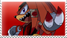 Knuckles the Echidna stamp by Escope3456