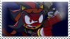 Shadow the Hedgehog stamp by Escope3456
