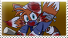 Miles Tails Prower stamp by Escope3456