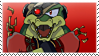 Vector the Crocodile stamp by Escope3456