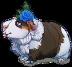 Amazing flower pig