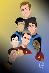 Star Trek version 1 by CreativeCatFX