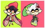 Splatoon 2 vr. 3 Squid Sisters