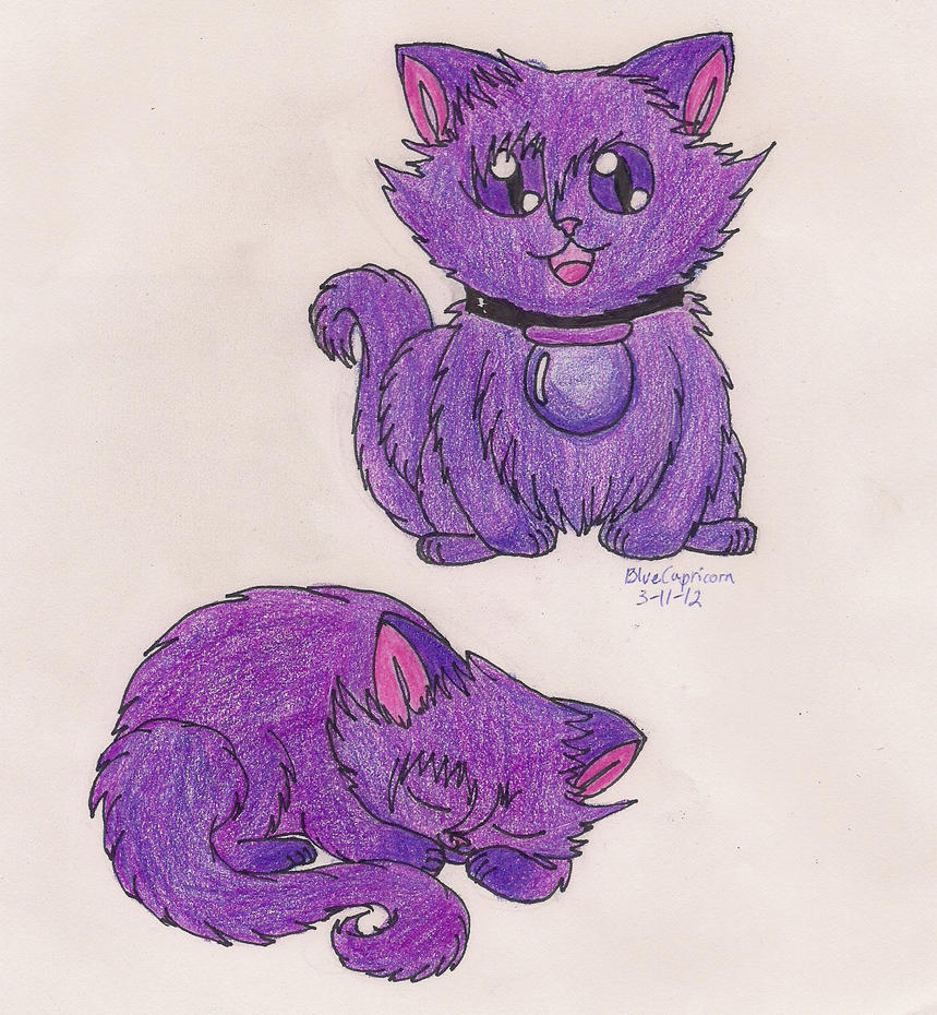 Arcobaleno Kitten, Skull by smallbluecapricorn