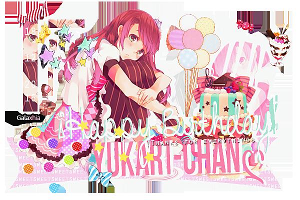Happy Birthday Yukari! by Galaxhia