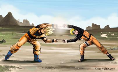 Goku and Naruto - Fusion
