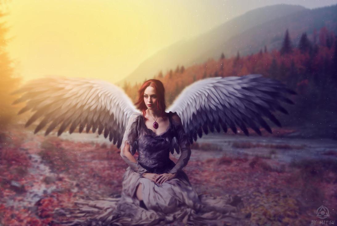 The Crimson Angel by NatsuROG