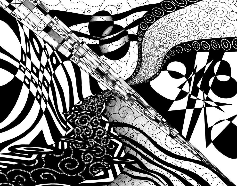 Rhythm of Black and White by Ryuuna on DeviantArt