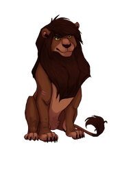 The Most Handsome Lion in the World by kozi-te