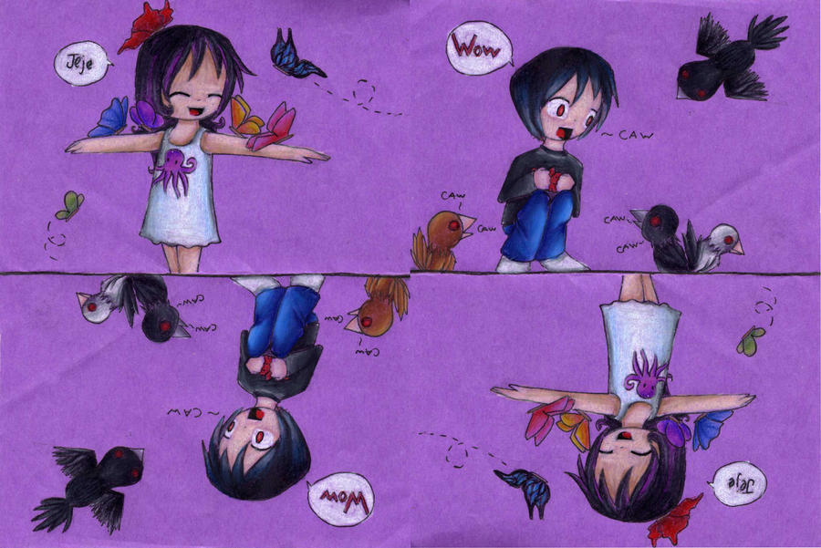 Chibis- Childhood by Nahui79
