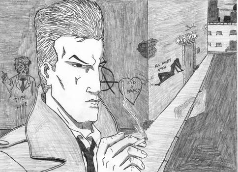 John Constantine - Out For a Smoke