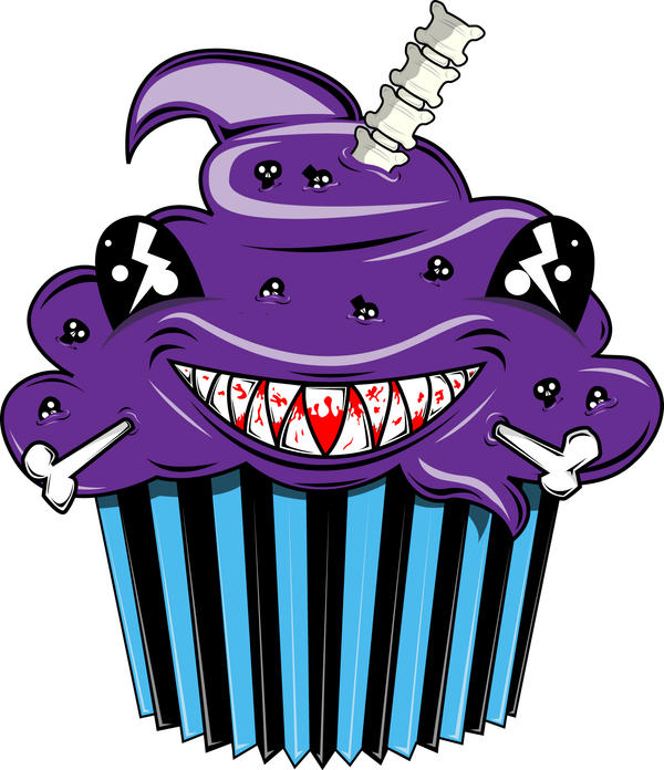 Evil Cupcake by DoomsdayMessiah on DeviantArt