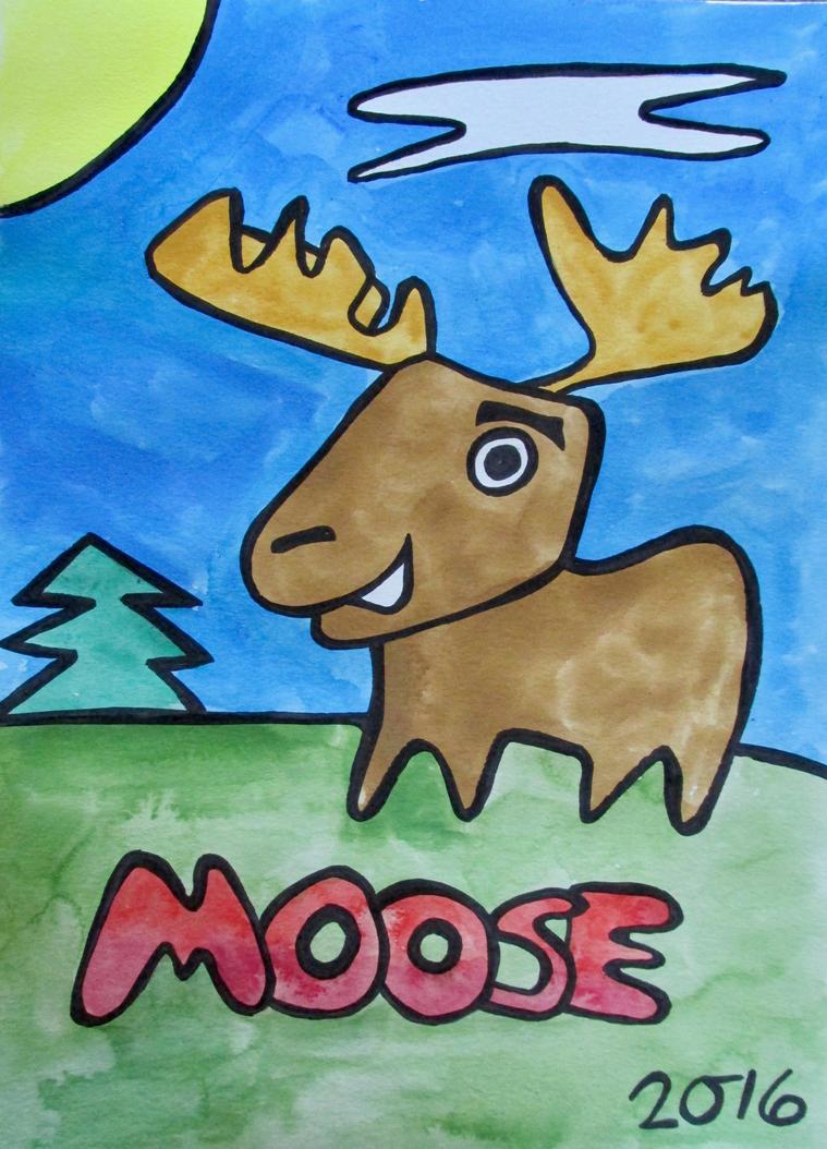 Moose by cgrusco