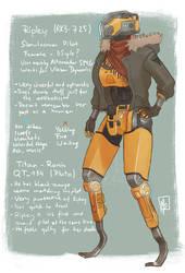 Ripley - Titanfall OC by TheMela485