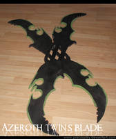 Twin's blades of Azzinoth by PxScosplay