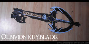 Oblivion keyblade by PxScosplay