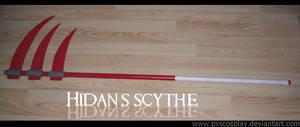 Hidan's scythe by PxScosplay