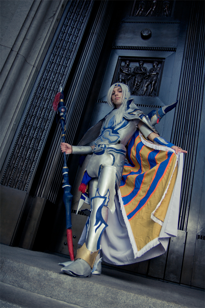 Lunarian warrior by PxScosplay