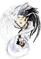 Coloured Angel and Goddess by lish-chan