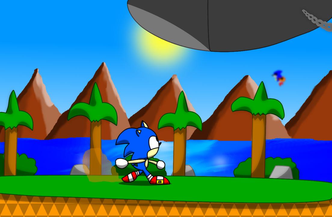 Sonic Cd Palmtree Panic By Tokeitime Deviantart – Fondos de Pantalla