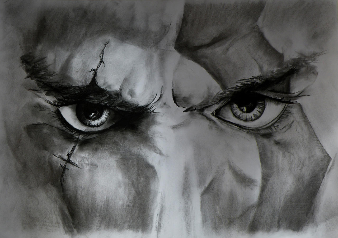 God of War Kratos eyes by racer1110