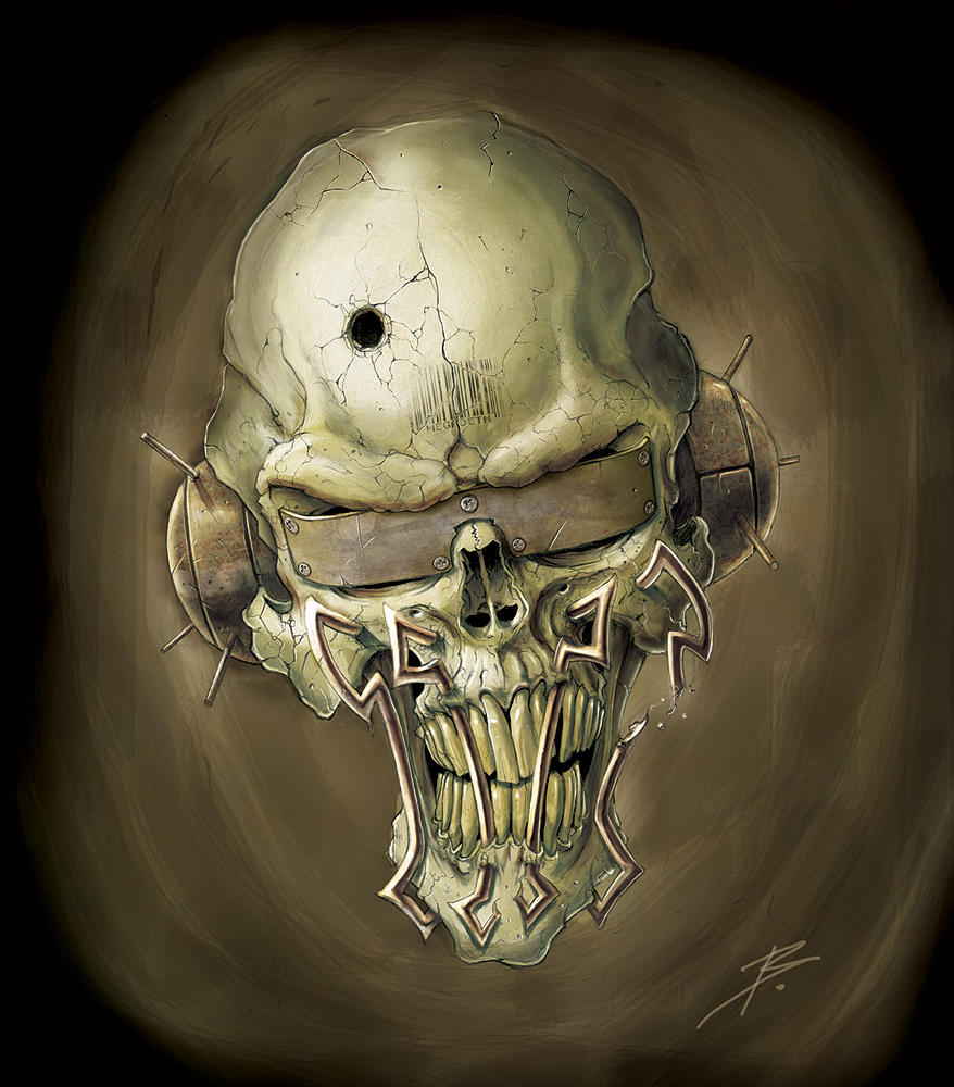 Vic Rattlehead by Browning43