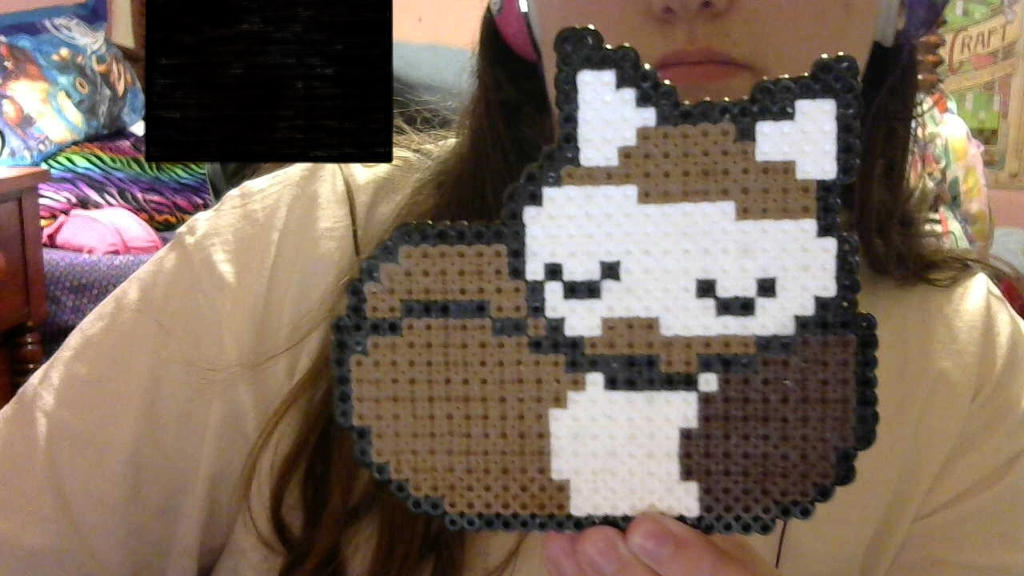 the other side of perler bead Shiny