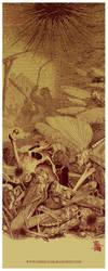 Locust Star by painsugar