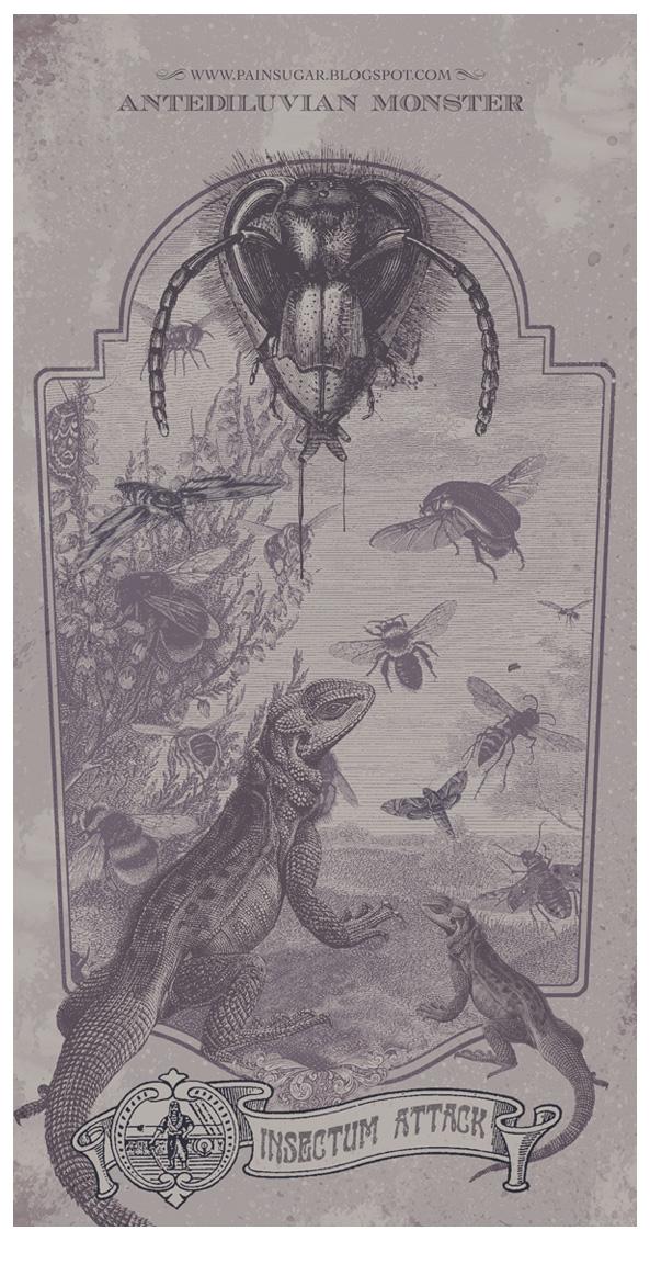 Antediluvian Monster by painsugar