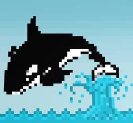 Pixel Orca