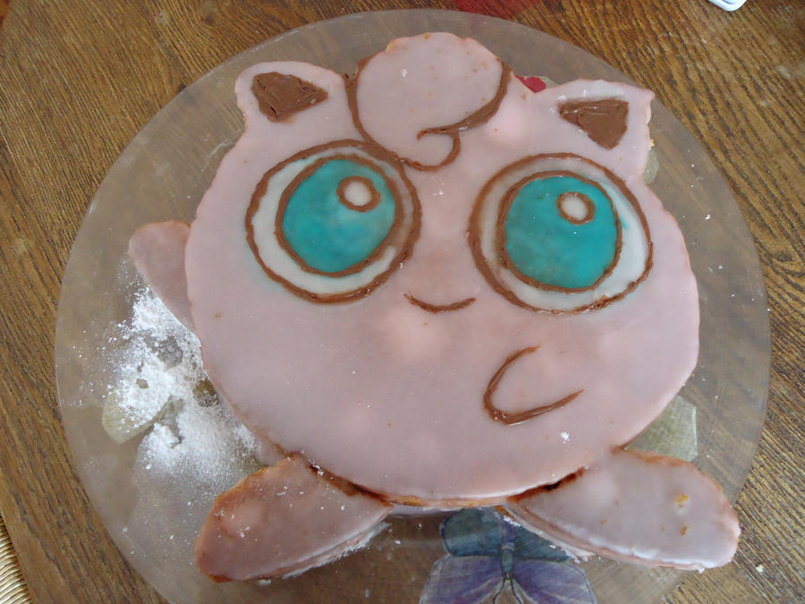 My Jigglypuff birthday cake by Miloceane on DeviantArt