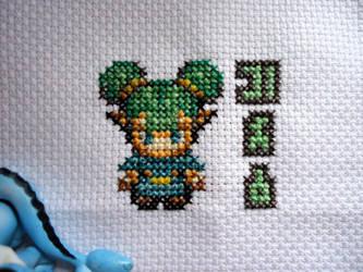 Cross stitch Farore by Miloceane