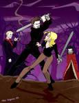 Buffy vs Angelus