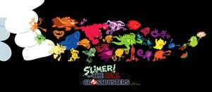 Slimer vs. The Companion Ghosts