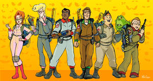 The Real Ghostbusters by mikeysammiches