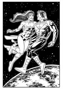 Superman Wonderwoman Pb Net