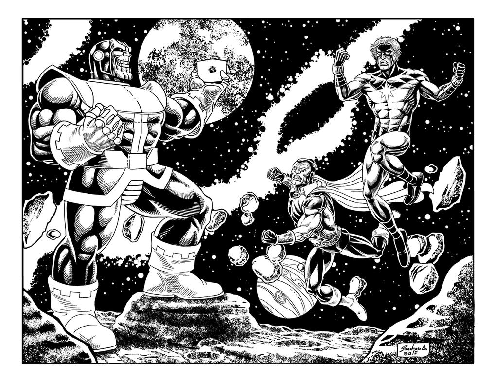 Thanos Pb Net by Guelin